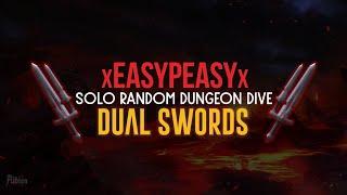 Albion online - Dual Swords - Solo Random Dungeon Dive