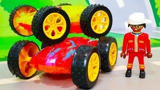 Мультики про машинки. Сюрприз для Петровича и Цветные машинки для детей. ЛЕГО мультфильм