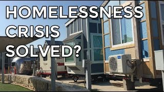 a Tiny home park for the chronically Homeless (& How it works 101)