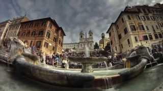 видео город Рим достопримечательности