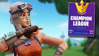 How to EASILY Get to CHAMPION DIVISION in Fortnite SEASON X