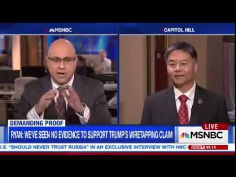 REP. LIEU MSNBC INTERVIEW WITH ARI VELSHI