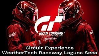 Gran Turismo Sport - WeatherTech Raceway Laguna Seca - Circuit Experience