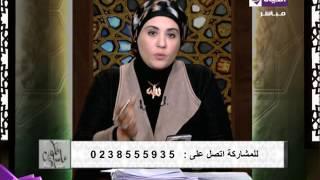 نادية عمارة توضح حكم رش المياه على القبور.. فيديو