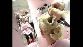 Прическа для невесты. Hairstyle for the bride. Igor Kuchnyev.