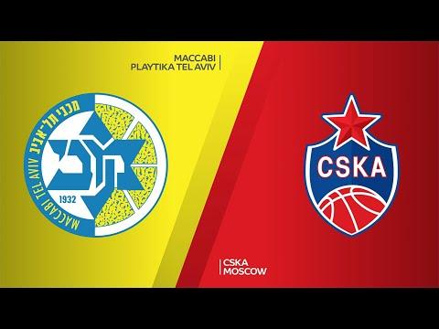 Maccabi Playtika Tel Aviv - CSKA Moscow Highlights | Turkish Airlines EuroLeague, RS Round 27