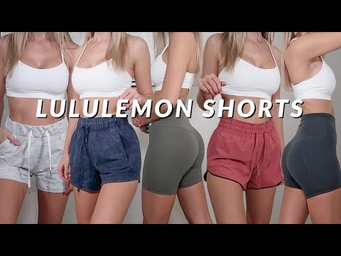 THE BEST LULULEMON SHORTS + TRY-ON HAUL | 2020