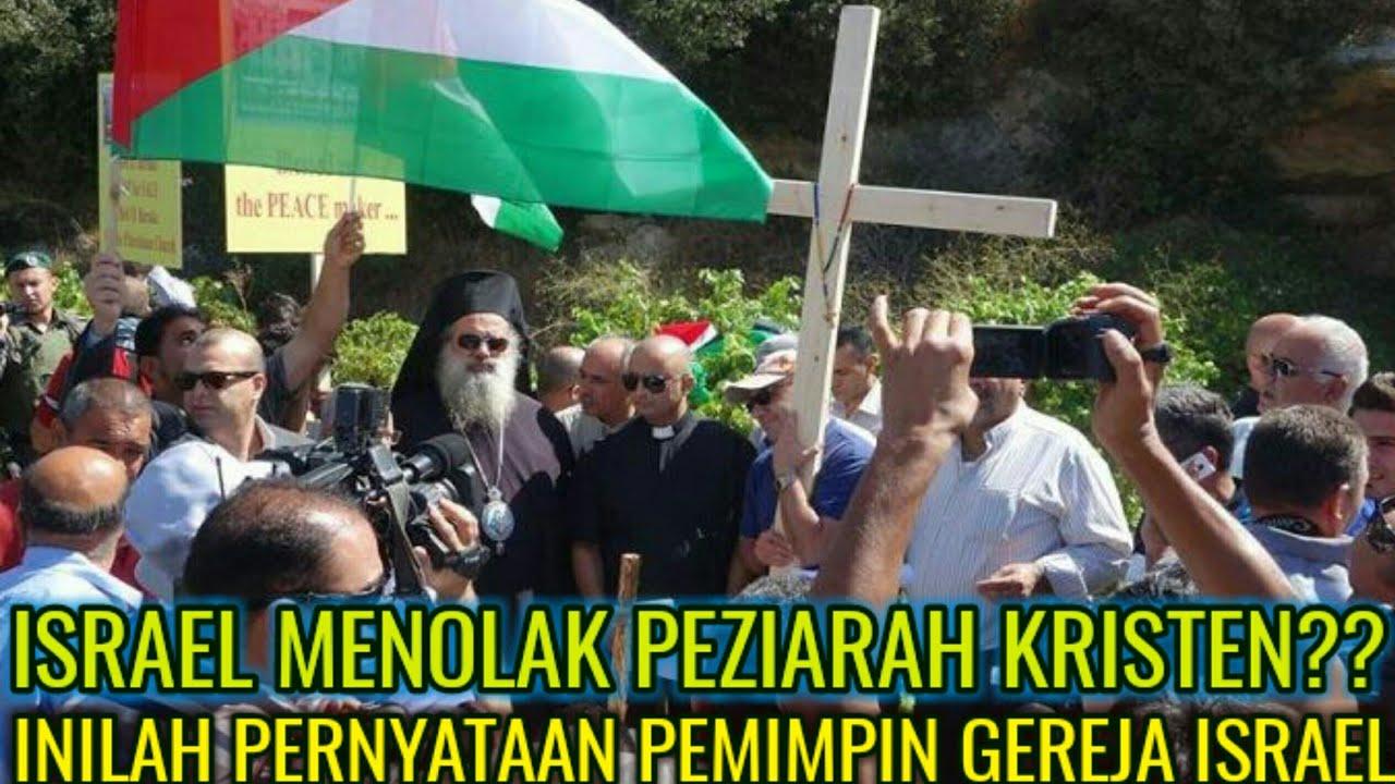 Pemimpin gereja Yerusalem: Israel menolak kehadiran Kristen di kota tersebut.