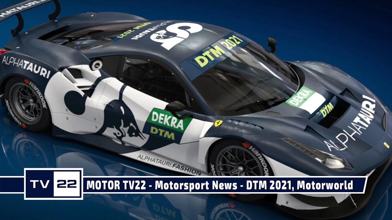 MOTOR TV22: Motorsport News - DTM 2021, Schnitzer Motorsport und Motorworld