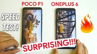 POCO F1 vs OnePlus 6 Speed test with 20 Apps I Multitasking test (Both 8GB)