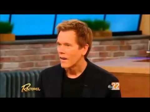 Kevin Bacon Interview on The Rachael Ray Show (Apr 13th, 2015)