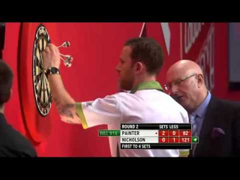 Paul Nicholson vs Kevin Painter - PDC World Darts Championships 2014 Second Round