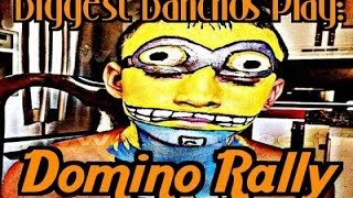 Domino Rally (Wii): Part 1 - Biggest Banchos Play