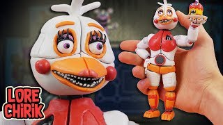 Making Funtime Chica from Five Nights at Freddys 6 Pizzeria Simulator