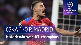 CSKA Moscow vs Real Madrid (1-0) UEFA Champions League Highlights