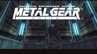 Metal Gear Solid PS1 Longplay