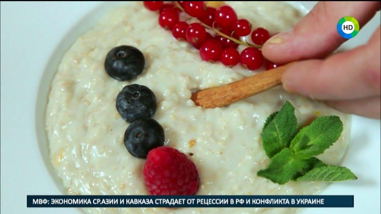 Постный завтрак: овсяная каша на кокосовом молоке!