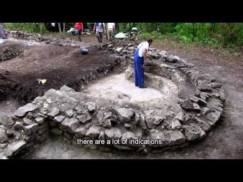 Scenes from a village 57 -  Excavating the lost church