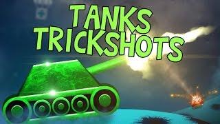 TANKS TRICKSHOTS - ShellShock Live / Norsk Gaming
