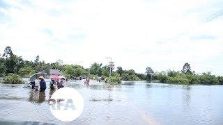 Flooding Inundates Homes, Schools and Farmland in Laos | Radio Free Asia (RFA)