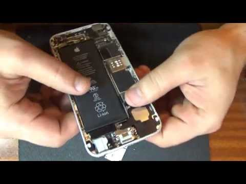 iPhone 6 меняем модуль зарядки