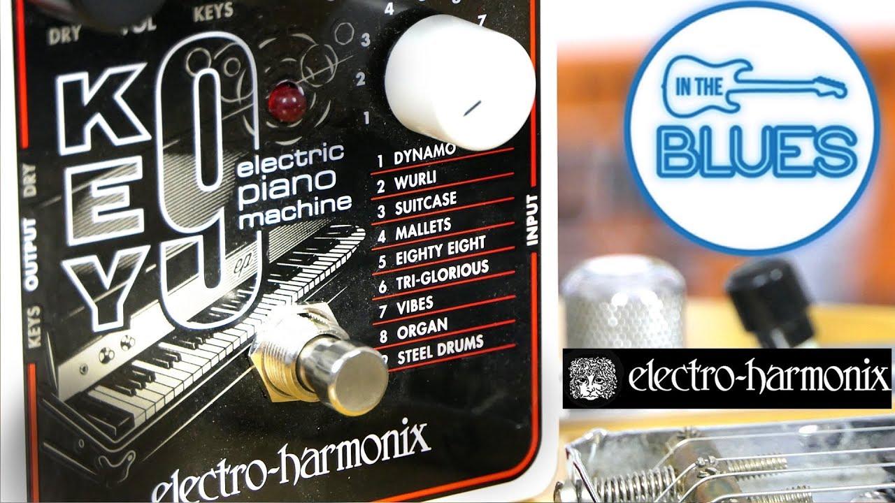 ehx key 9 electric piano machine by electro harmonix youtube. Black Bedroom Furniture Sets. Home Design Ideas