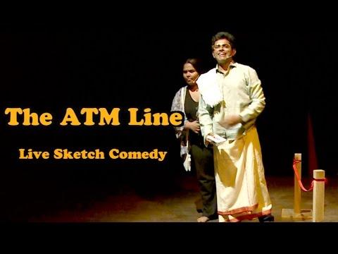 The ATM Line | Go Straight Take Left | LIVE SKETCH COMEDY