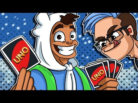 20 CARDS AND A DREAM! Winter Uno Funny & Rage Moments!