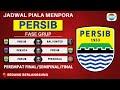 🔴 Jadwal Persib Bandung Piala Menpora 2021