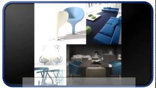 New Blue Modern Furniture