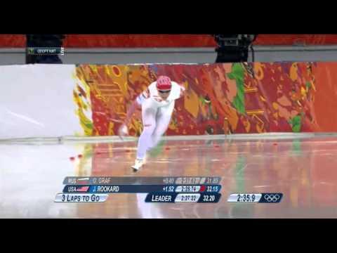 Рекорд России в конькобежном спорте на дистанции 3000 метров (женщины) - Ольга Граф