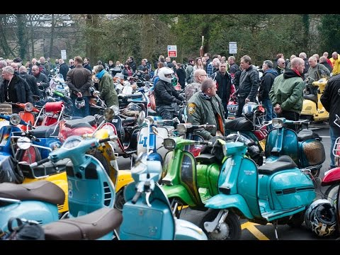 Yorkshire Scooter Alliance - Knaresborough to Wetherby ride 2017