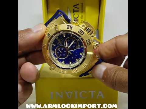66e6d0b2d84 Relógio Invicta Subaqua 5515 noma iii - YouTube