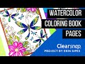 Watercoloring with ColorBox® Dye Ink - Erin Sipes
