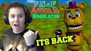 FNaF World Simulator | Episode 1 | IT'S BACK!!!
