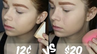 Cosmetic Wedge vs Beauty Blender