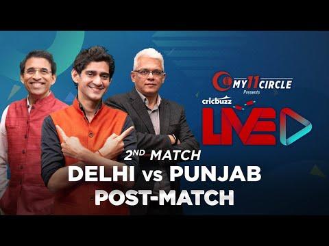 Cricbuzz LIVE: Match 2, Delhi v Punjab, Post-match show
