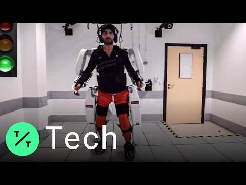 .法國開發大腦控制的外骨骼套裝,能讓癱瘓患者重新行走