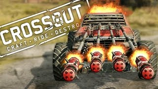 DESTRUCTION DERBY! (Crossout Gameplay)