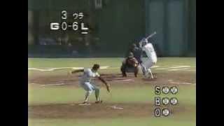 1983 鹿取義隆 1 日本シリーズ ほとんどファストボール