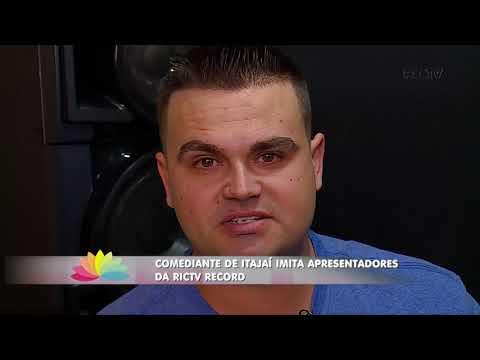 Comediante de Itajaí imita apresentadores da RICTV RECORD