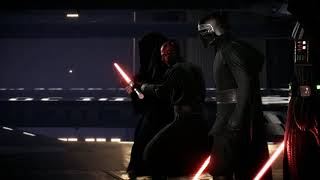 Unheard line between Palpatine and Vader