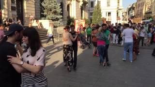 Am dansat tango argentinian pe Strada BT la Milonga de Mayo