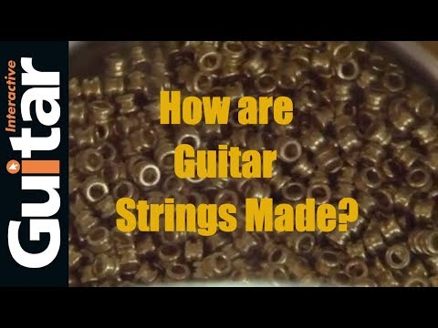 Gi TV - Rotosound Strings Special Feature - How are Guitar Strings made?