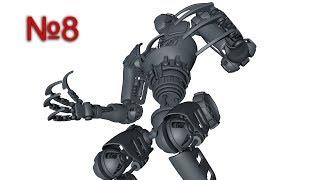 Cinema 4D: Механический Робот, Xpresso: Урок №8 [HD]