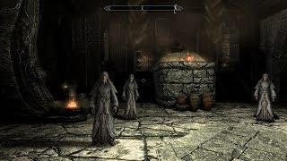 Прохождение Skyrim #7 Посещаем седобородых и выполняем первые контракты тёмного братства