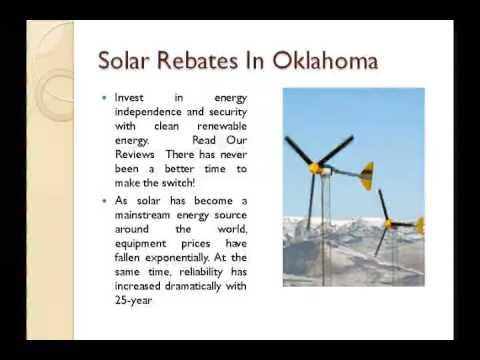 solar rebates in Oklahoma