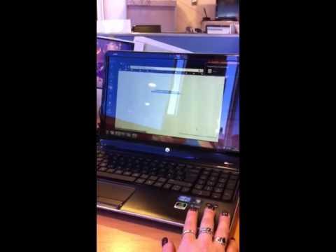 HP Simplepass - Fingerprint reader in action - YouTube
