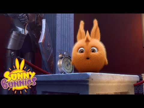 Cartoons For Children | Sunny Bunnies TIME MACHINE | NEW SEASON | Funny Cartoons For Children