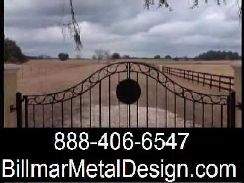 About Wrought Iron Gates, 103 Wrought Iron metal, driveway